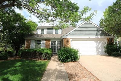 Centennial Single Family Home Active: 7117 South Poplar Lane
