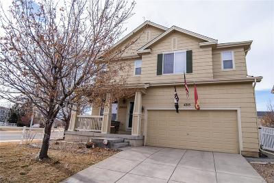 Longmont Single Family Home Active: 4215 San Marco Drive