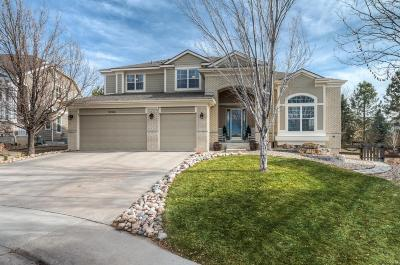 Highlands Ranch Single Family Home Under Contract: 10168 Mockingbird Lane