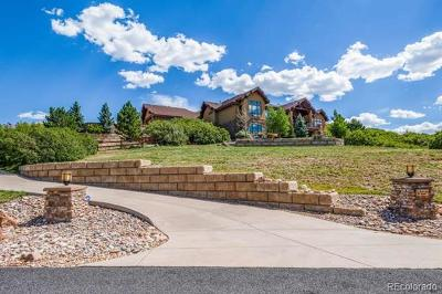 Castle Rock Single Family Home Active: 2001 Ranch Gate Trail