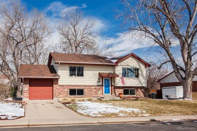Northglenn Single Family Home Under Contract: 11745 Spring Drive