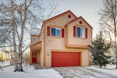 Longmont Single Family Home Active: 715 Boxwood Lane