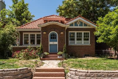 Denver Single Family Home Under Contract: 2037 York Street