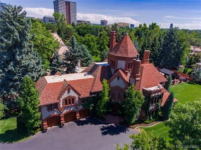 Denver CO Single Family Home Active: $7,900,000
