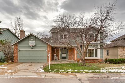 Centennial Single Family Home Active: 16853 East Prentice Circle
