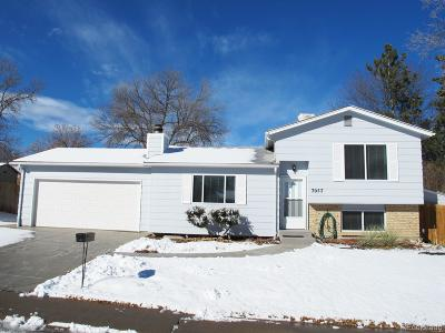 Littleton Single Family Home Active: 7057 West Frost Place