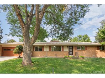 Centennial Single Family Home Active: 5857 South Sherman Way