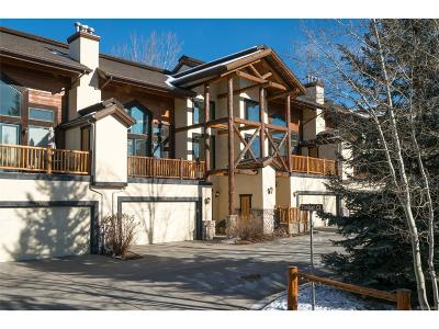 Steamboat Springs CO Condo/Townhouse Active: $825,000