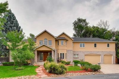 Denver Single Family Home Active: 7682 East Arizona Drive