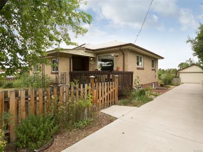 Denver Single Family Home Under Contract: 1760 South Holly Street