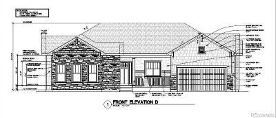 Castle Rock Single Family Home Active: 1435 White Fir Terrace