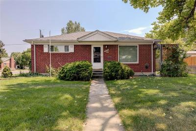 Northglenn Single Family Home Active: 10766 Corona Street