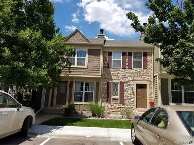 Centennial Condo/Townhouse Under Contract: 8184 South Fillmore Circle