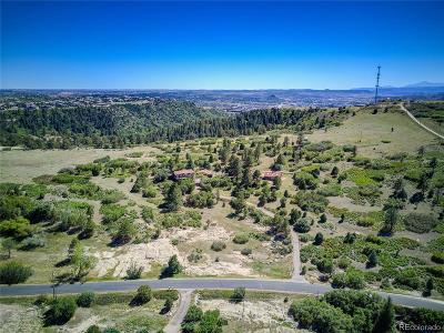 Castle Rock Residential Lots & Land Under Contract: Tract Of Land Pawnee