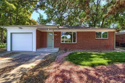 Wheat Ridge Single Family Home Under Contract: 4680 Reed Street