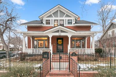 Single Family Home Under Contract: 909 East 4th Avenue