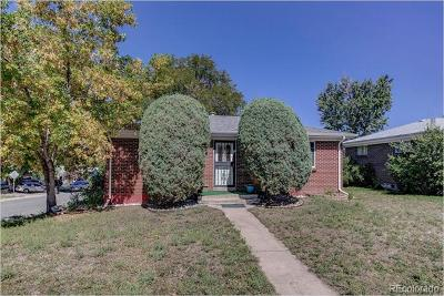 Denver Single Family Home Active: 2699 West Colorado Avenue
