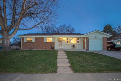 Northglenn Single Family Home Active: 1352 West 103rd Avenue
