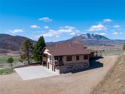 Steamboat Springs Single Family Home Active: 46750 County Road 129