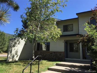 Steamboat Springs Condo/Townhouse Active: 1 Cypress Court