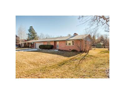 Boulder Single Family Home Under Contract: 4860 Sioux Drive