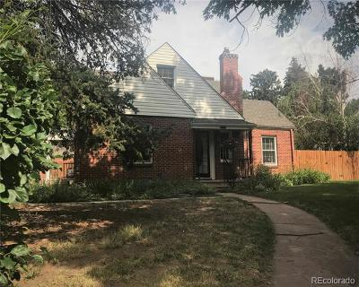 Englewood Single Family Home Active: 2700 South Emerson Street