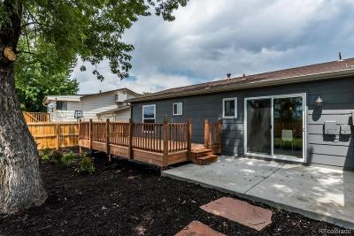 Lakewood Single Family Home Under Contract: 3271 South Hoyt Way