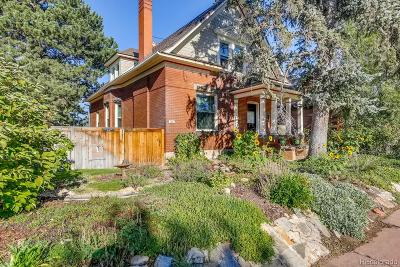 Single Family Home Under Contract: 781 South Pearl Street