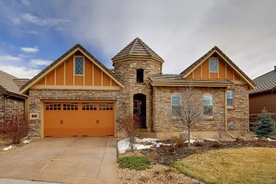 Highlands Ranch Single Family Home Under Contract: 248 Basilwood Way