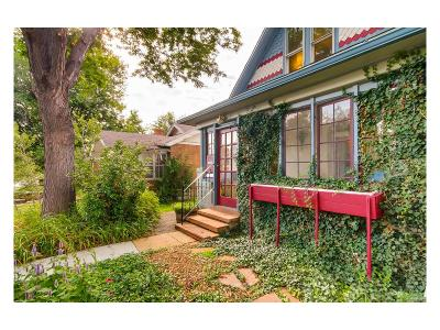 Single Family Home Under Contract: 4632 West 34th Avenue