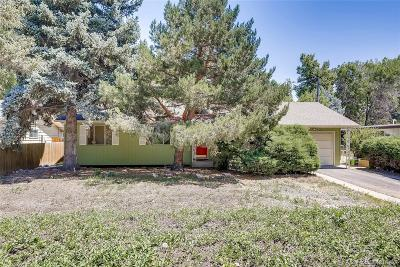 Boulder Single Family Home Active: 862 55th Street