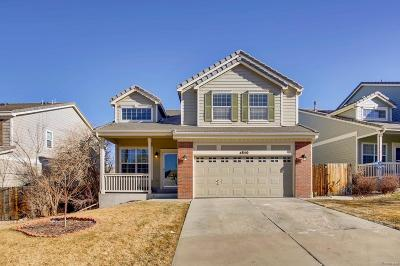 Aurora Single Family Home Active: 4850 South Kirk Way