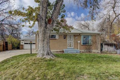 Northglenn Single Family Home Under Contract: 11069 Ogden Street