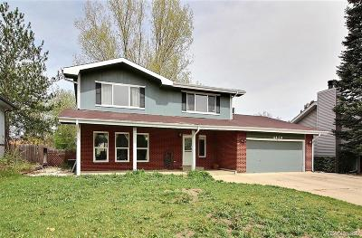 Greeley Single Family Home Under Contract: 4419 West 6th Street