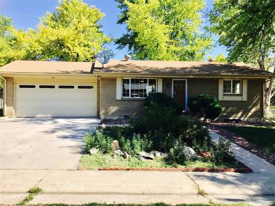 Northglenn Single Family Home Active: 1369 West 102nd Avenue