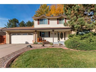 Denver Single Family Home Active: 4465 South Wolcott Court