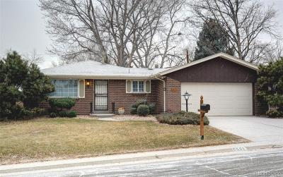 Arvada Single Family Home Under Contract: 6581 Urban Court