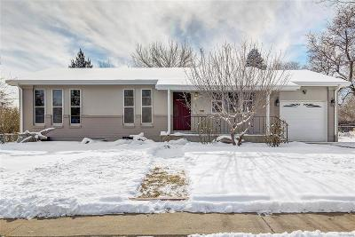 Northglenn Single Family Home Under Contract: 11860 Sylvia Drive