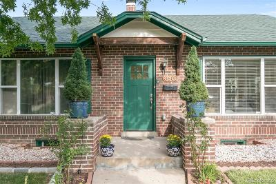Denver CO Single Family Home Active: $469,000