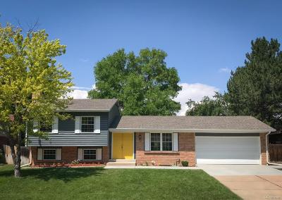 Littleton Single Family Home Active: 6379 South Chase Court