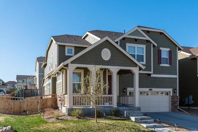 Castle Rock CO Single Family Home Active: $555,000