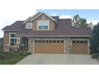 Castle Rock Single Family Home Active: 2318 Ridgetrail Drive
