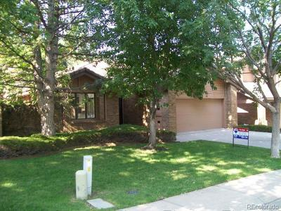 Denver Single Family Home Under Contract: 7500 East Dartmouth Avenue #35