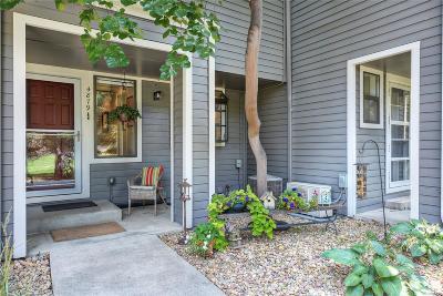 Boulder Condo/Townhouse Under Contract: 4879 Kings Ridge Boulevard
