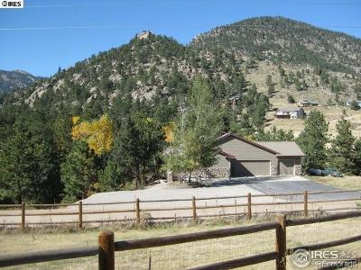 Lyons Single Family Home Active: 599 Kiowa Road