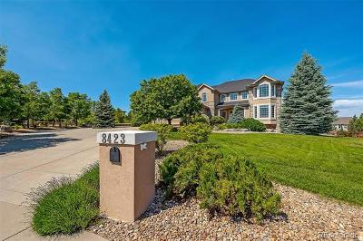 Castle Pines Single Family Home Active: 8423 High Ridge Court