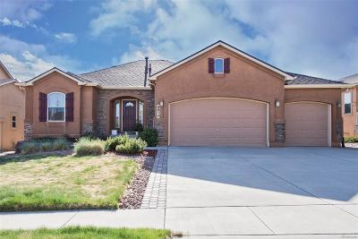 Colorado Springs Single Family Home Under Contract: 8814 Wolf Lake Drive