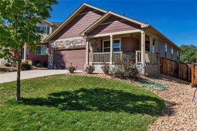 Castle Rock Single Family Home Under Contract: 3339 Bonita Place