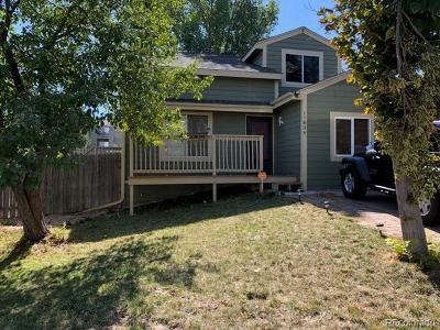 Aurora Single Family Home Active: 17826 East Colgate Place