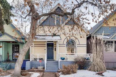 Denver Single Family Home Active: 2848 West 36th Avenue